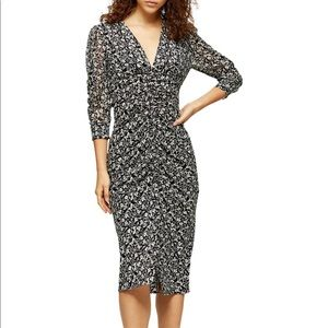 NWT Topshop Midi Dress